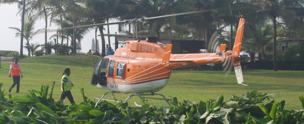 Helicopter Ride Goa
